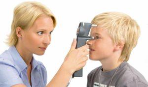 Измерение давления глаза