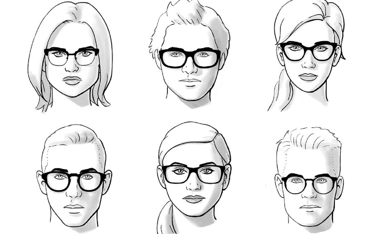 Как подобрать очки под форму лица