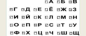Автор азбуки для незрячих
